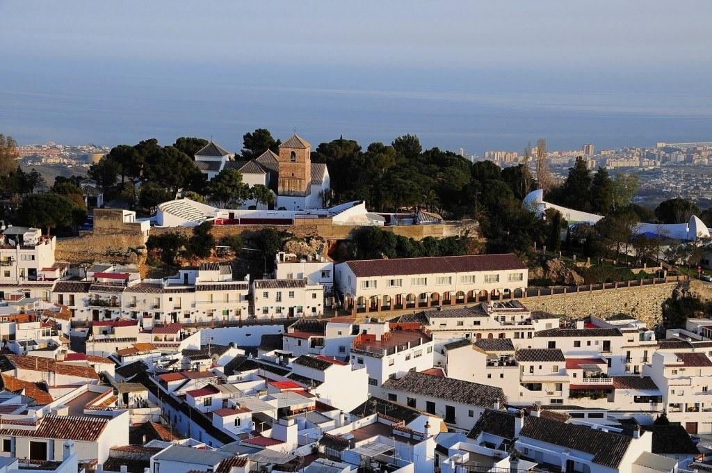 Mijas pueblo - panoramic views