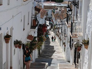 Mijas - typical street