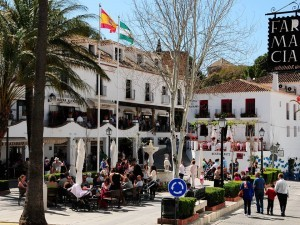 Mijas - Constitution square