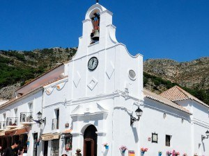 Mijas - San Sebastian church