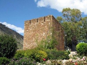 Mijas - watchtower from the old fortress